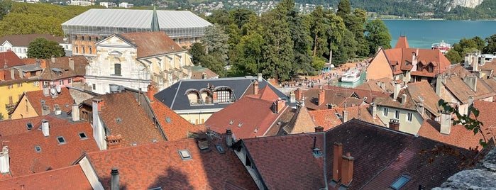 Annecy Old Town is one of Anncey France.