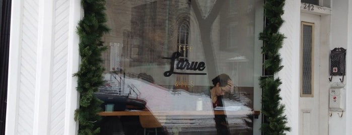 Café Larue & Fils is one of Montreal.