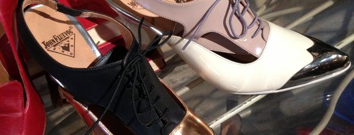 John Fluevog Shoes is one of The Hub.
