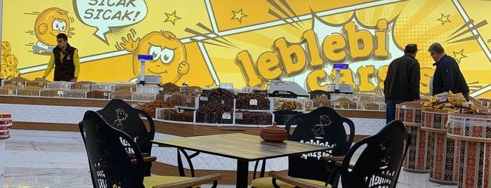 Leblebi Çarşısı Fabrika Satış Mağazası (Dinlenme Tesisi) is one of 🌜🌟hakan🌟🌛 : понравившиеся места.