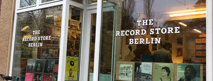 The Record Store is one of VINYL.