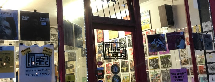 Flashback Records is one of Vinyl Shops.