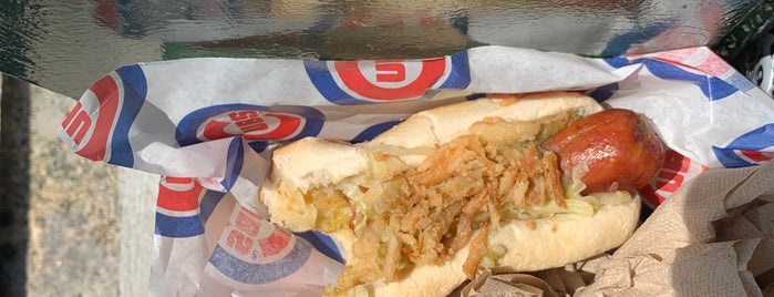 Hot Doug's is one of Chicago - Local's Guide.