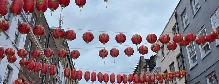 China Town (E14) is one of London.