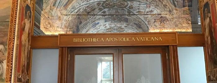 Biblioteca Apostolica Vaticana is one of Locais curtidos por Carl.