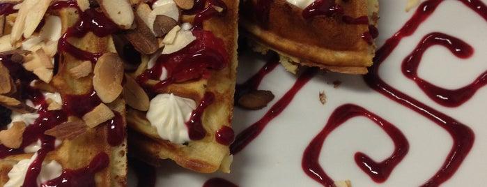 Waffle Coffee & Tea Bar is one of Locais salvos de Francisco Adun.