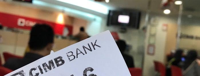CIMB Bank is one of Teresa'nın Kaydettiği Mekanlar.