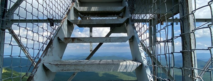 Fryingpan Mountain Lookout Tower is one of Asheville!!.