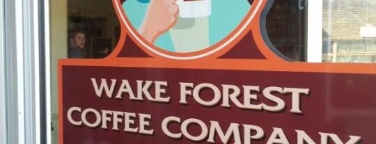 Wake Forest Coffee Company is one of Tempat yang Disimpan Brandon.