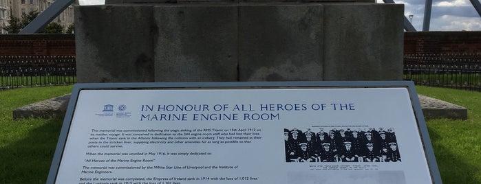 Titanic Memorial is one of Liverpool.