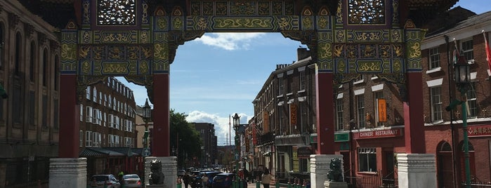 Chinatown Liverpool | 利物浦 唐人街 is one of Liverpool.