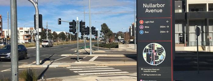 Metro Nullarbor Avenue is one of Canberra Metro.