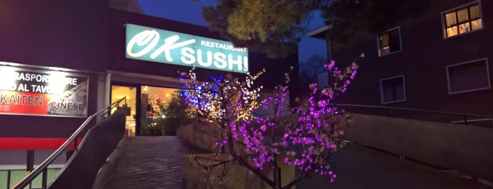 Ok Sushi is one of Lugares favoritos de Mik.