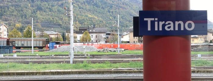 Stazione Tirano (RhB) is one of Tempat yang Disukai Amit.