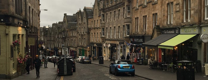 Cockburn Street is one of Edinburgh.