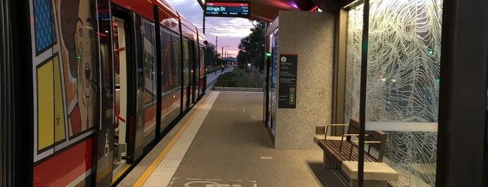 Metro Ipima Street is one of Canberra Metro.