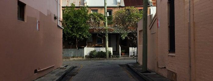 Darlinghurst is one of Sydney.