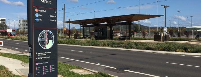 Metro Swinden Street is one of Canberra Metro.