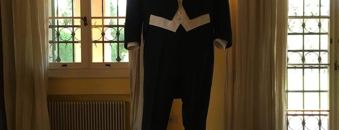 Casa Museo Luciano Pavarotti is one of Toscana, Piemonte, Liguria, Emilia-Romagna.