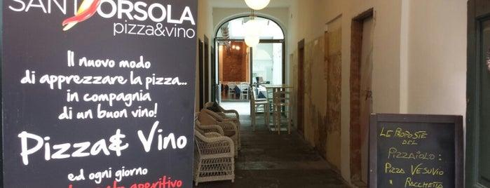 Sant'Orsola Pizza&Vino is one of Bergamo 🇮🇹.