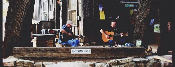 Luckenbach Texas and Dance Hall is one of SXSW 2013.