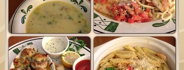 Olive Garden is one of Thiagoさんのお気に入りスポット.
