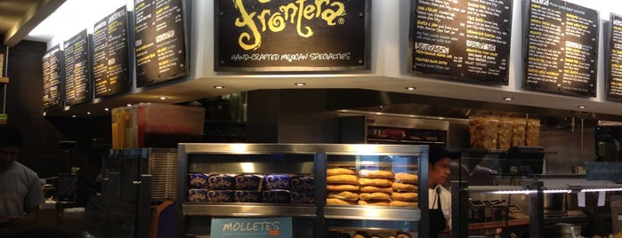 Tortas Frontera by Rick Bayless is one of Lieux qui ont plu à Marie.