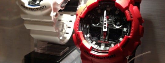 G-Shock Store is one of New York Shops.