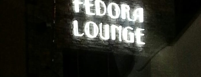 Fedora Lounge is one of Bars.