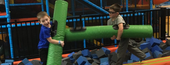 Urban Air Trampoline and Adventure Park is one of Kids Fun.