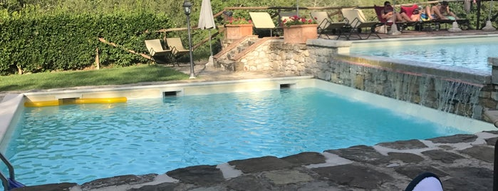 Hotel Le Pozze Di Lecchi is one of Tempat yang Disukai Travelagent.