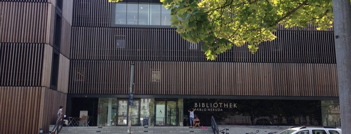 Pablo-Neruda-Bibliothek is one of Remote Work in Berlin.