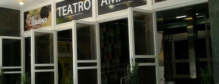 Teatro Amaya is one of Top 10 favorites places in Madrid.