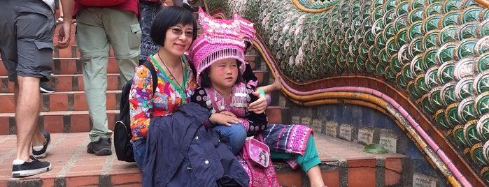 Wat Phrathat Doi Suthep is one of Kirsten : понравившиеся места.