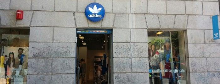 Adidas Originals Store Madrid is one of Tiendas de moda en Madrid.