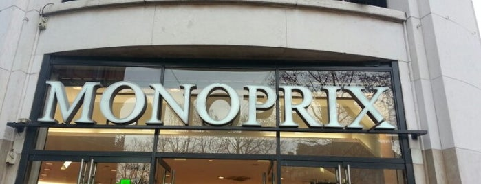 Monoprix is one of Paris.