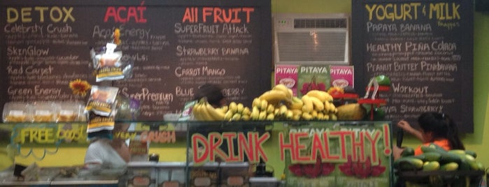 Crush Juice Bar - Condado is one of Orte, die Lu gefallen.