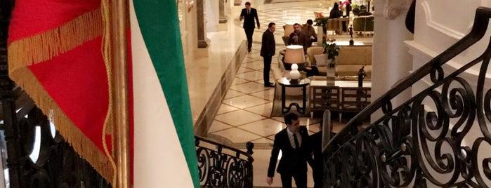 Jaleh Spa at Four Seasons Hotel Baku is one of Lieux qui ont plu à Ladybug.