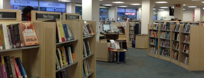 Blackheath Library is one of GLL Libraries.