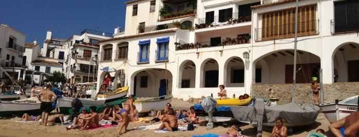 Platja de Port-Bo is one of Playas de España: Cataluña.