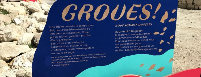 Vive Les Groues is one of Bars 2.