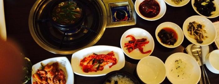 가마솥 이천 쌀밥집 is one of Korean food.