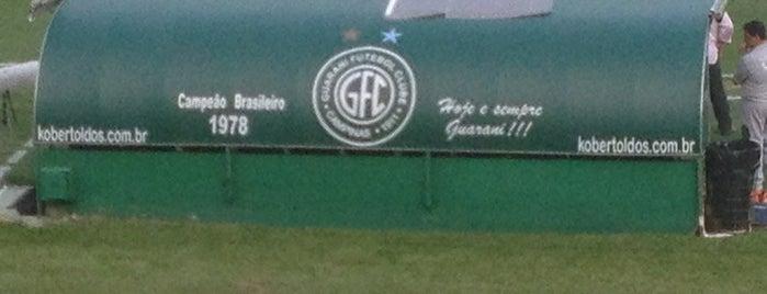 Estádio Brinco de Ouro da Princesa is one of Turismo em Campinas.