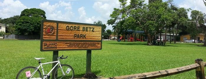 Gore Betz Park is one of Tempat yang Disukai Troy.