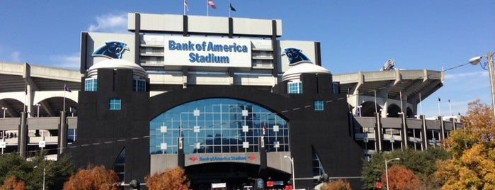 Bank of America Stadium is one of US Pro Sports Stadiums - ALL.