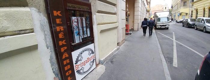BringaButik is one of Budapest.
