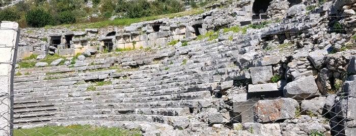 Limyra Antik Kenti is one of Antalya Gezilecek Yerler.