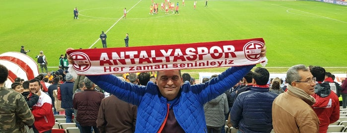 Antalya Spor Stadium is one of Tempat yang Disukai 🌜🌟🌟hakan🌟🌟🌛.