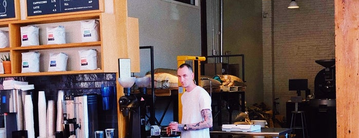 ReAnimator Coffee Roastery is one of Lugares favoritos de Marianna.