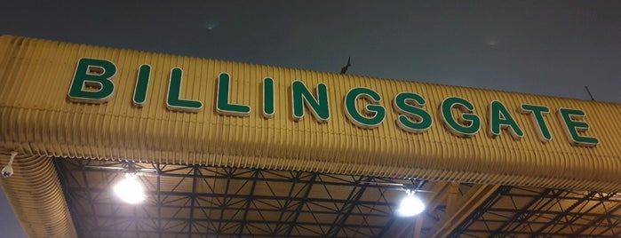 Piggys Billingsgate Market is one of London & Edinburgh.